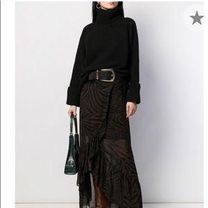 *nwt* ba&sh • nagora black turtleneck sweater